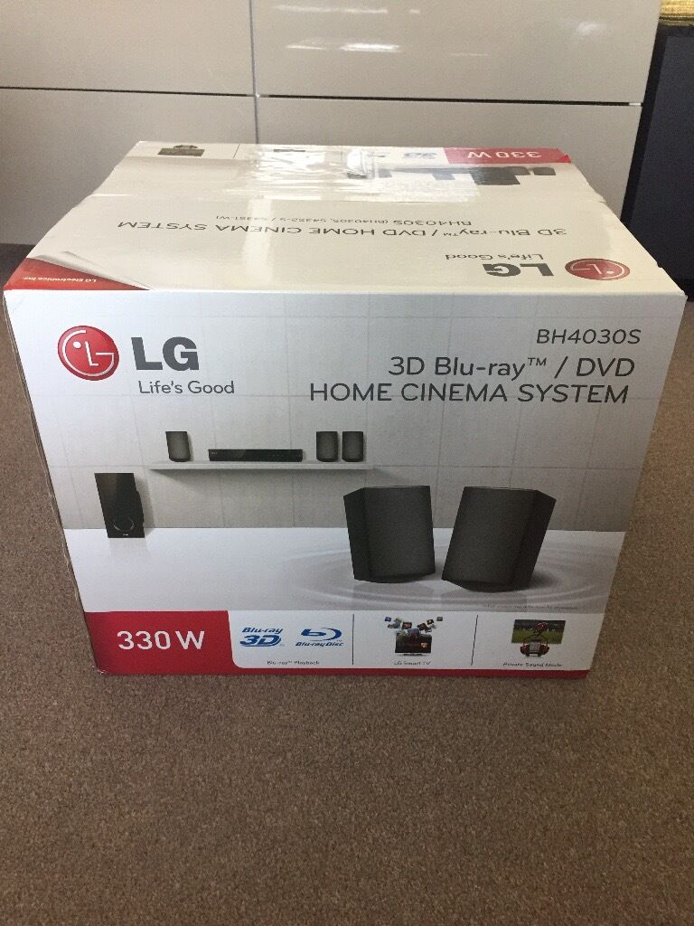 Lg 3d Blu Ray Dvd Smart Surround Sound System Bh4030s For