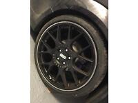 19inch bbs ch-r wheels genuine
