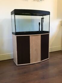 Fluval Vicenza 180 Bow Front Fish Tank