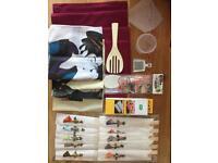 Japanese place setting and sushi kit