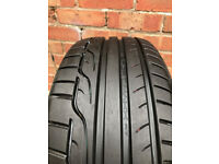 Dunlop Sportmaxx RT 225/45/18 ONLY 60 MILES USE!!