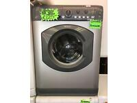 HOTPOINT 6KG LOAD DIGITAL WASHING MACHINE IN GREY