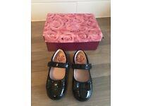 Lelli Kelly girls black shoes size 8