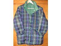 Ladies original Puffa Jacket Medium. Reversible with zip sleeves