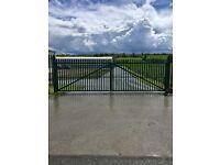 Security fencing Gates