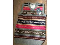 Jack wills knitted vest, polo shirt, striped shirt