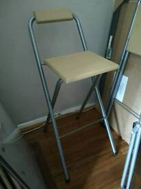 2x high stools / chairs