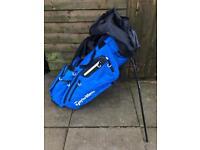 Taylormade Flextech 5 way divider Stand Carry bag 2017 Blue
