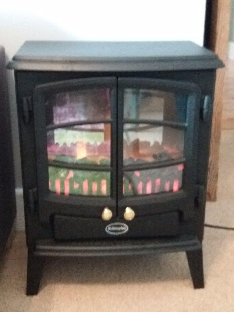Dimplex logburner style fan heater.