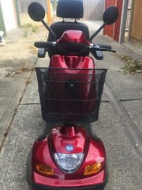 Mobility scooter. TGA Sonet (Red)
