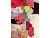 Bundle of baby girls clothes 9-18 months