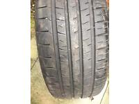 2 off 205/45/16 budget tyres 6 mm of tread!