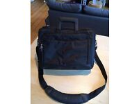 UNUSED DELL laptop bag incl laptop security cable