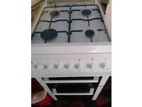 Beko gas cooker. Double oven