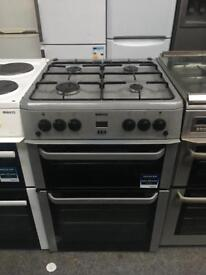 BEKO free standing full gas cooker double oven in good condition & perfect working order