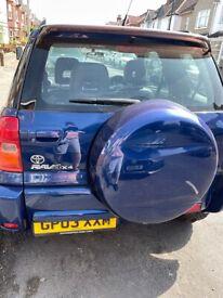 image for Toyota, RAV 4,  4x4 3 door, leather 2003, Manual, 1998 (cc), Goodrich All Terrain Tyres