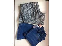 Girls age 8 H&M & Next jeans