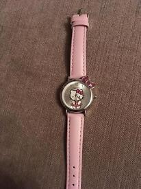 Brand new hello kitty watch. Never worn