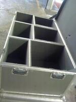 Three Drum carrying protective boxes