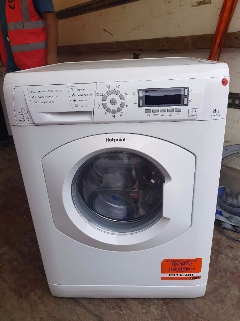 Hotpoint Washing Machine (8kg6 Month Warrantyin Liverpool City Centre, MerseysideGumtree - Hotpoint Washing Machine 8kg (1600 spin with A Energy rating) Latest Model Factory Refurbished. Excellent Condition 6 Month Warranty Free Local Delivery Removal Of Old Appliance Many Makes and Models Liverpool Appliances 25 County Road Walton L4 3QA