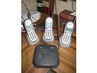 BT Quartet 2010 Cordless Telephones.