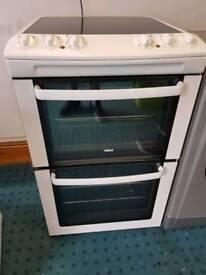 Zanussi 55cm electric cooker