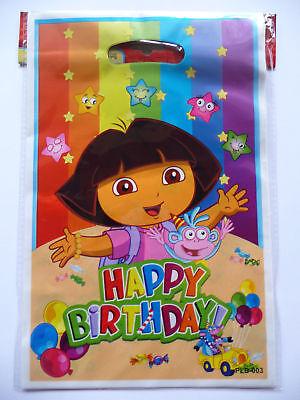 DORA THE EXPLORER BIRTHDAY PARTY  LOOT/LOLLY BAGS PK8
