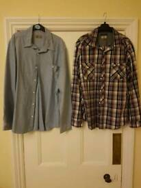2 Next casual shirts XL