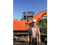(RJK Services) Digger and man hire
