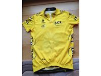 Tour de France cycling top- yellow jersey -Age8
