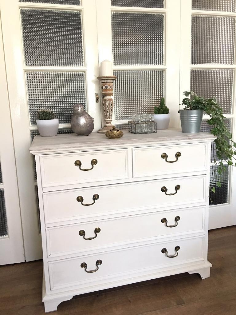 SOLID WOOD CHEST FREE DELIVERY LDN🇬🇧shabby chic