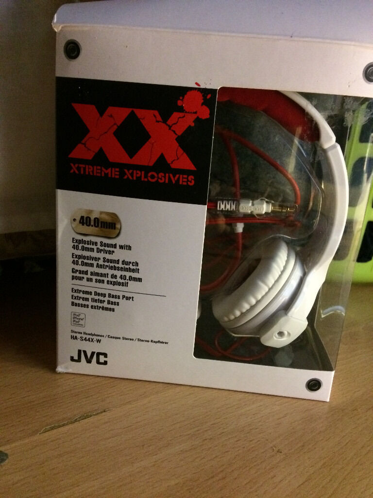 JVC Xtreme Xplosives Headphones