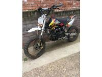 140cc oil cooled pitbike