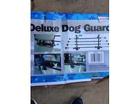Deluxe dog car guard