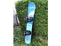 Snowboard for sale with bindings