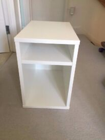 IKEA 'OLTEDAL' bedside table - white