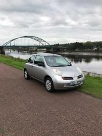 Nissan micra s 3dr (free 6 months gold warranty)(full service history)(low Milage)