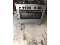 Dual fuel range cooker (kenwood)