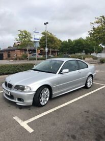 BMW 330 COUPE, MSport, MANUAL, SILVER, LEATHER INTERIOR, LOADS OF RECEIPTS