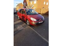 renault grand scenic 1.5dci 55 plate