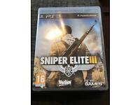 Sniper 3 Elite for PS3