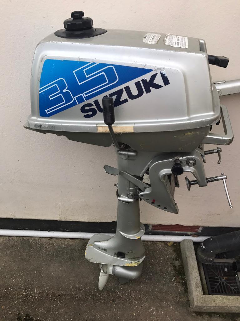 SUZUKI 3.5HP OUTBOARD MOTOR
