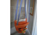 Baby door bouncer/tiger jumperoo