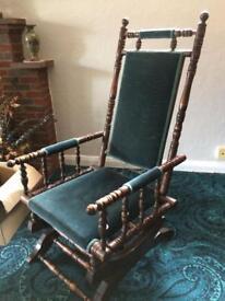 Unusual rocking chair