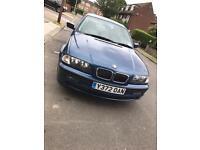 2001 BMW 320I SE + 12 months MOT