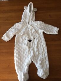 Newborn snow suit