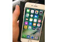 Gold iPhone 7 32GB unlocked