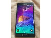 Samsung Galaxy Note 4 (Unlocked 32GB) + Fast Charger