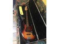 Fender USA Jazz Bass - 2008 - With Genuine Fender ABS Flight Case