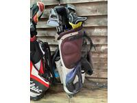 golf bag sets with clubs and accessories